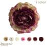 花びらの重なりがきれいなラナンキュラスのコサージュ【結婚式・披露宴・お呼ばれ】【日本製】