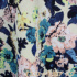 【9〜13号】ボタニカルフラワープリントのワンピース(サテンベルト付)【結婚式、披露宴、入学式】【日本製】